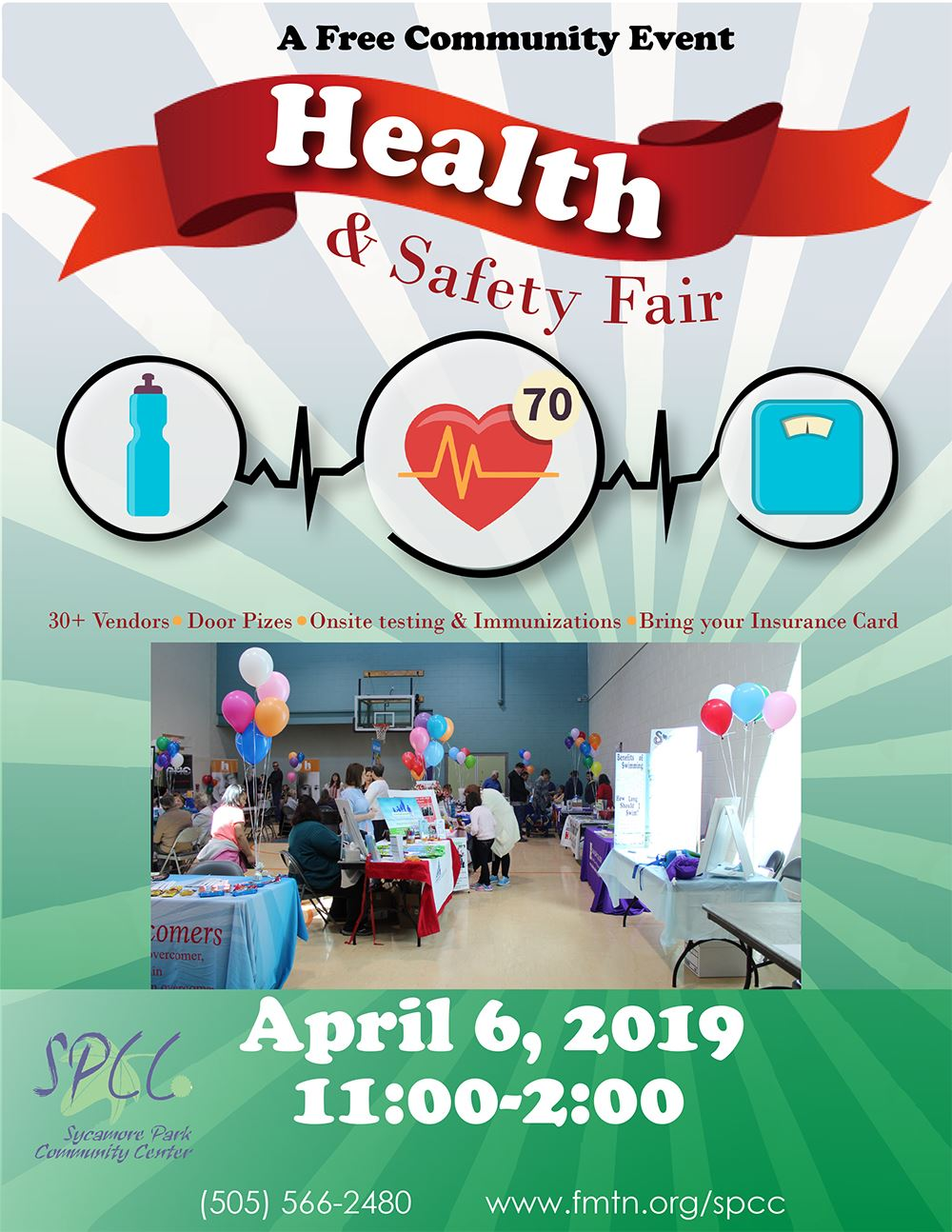 Health & Safety Fair poster