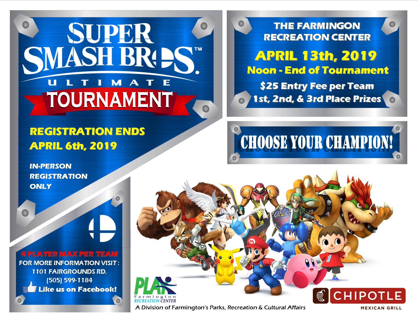 Smash Tournament 2019 (4.13) jpg