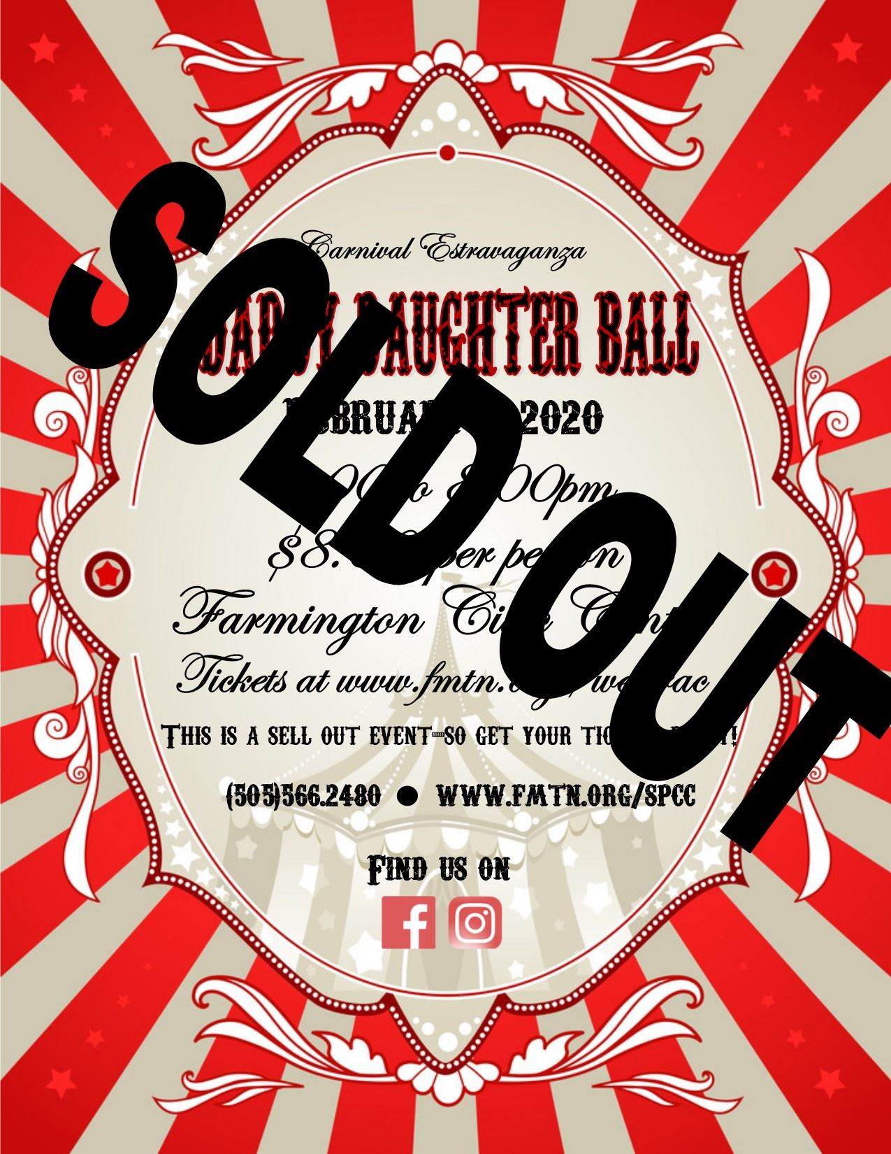 Daddy Daughter  Ball sold out